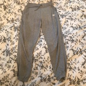 Grey Nike sweats